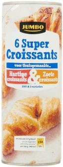 Lactosevrije super croissants van Jumbo
