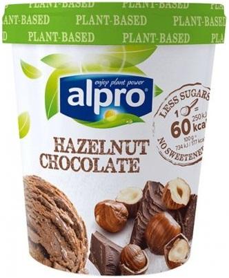 Plantaardig lactosevrij ijs van Alpro