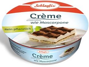 Vegan Mascarpone van Schlafix is ook lactosevrij