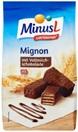 MinusL lactosevrije mignon koekjes met chocolade