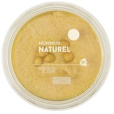 Hummus van de AH is een voorbeeld van eiwitrijk vegan broodbeleg.