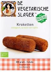 De kroketten van de Vegetarische Slager zijn voorbeelden van vegan broodbeleg voor een snack of lunch.